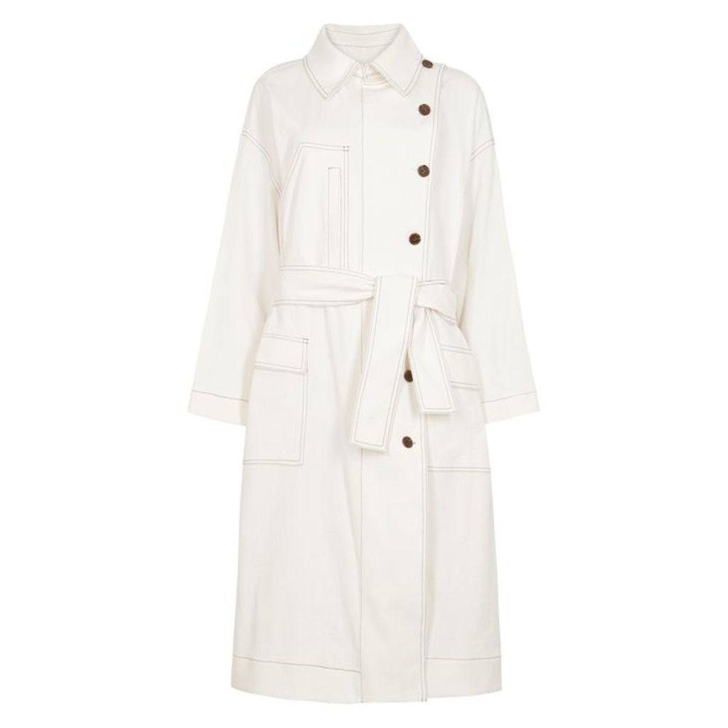 SJYP Off-white Trench Coat