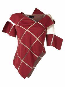 Gloria Coelho asymmetric top - Red