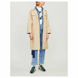 Victoire cotton trench coat