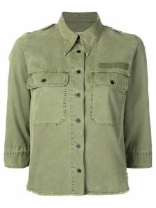 Zadig & Voltaire Toast military shirt - Green