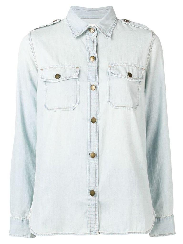 Current/Elliott safari shirt - Blue