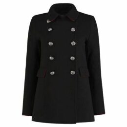 De La Creme  Winter  Military Designer Jacket  women's Coat in Black