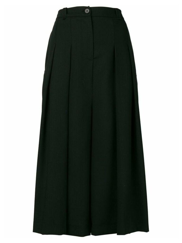 McQ Alexander McQueen pleated midi skirt - Black