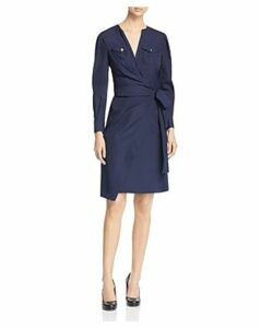 Paule Ka Cotton Wrap Dress