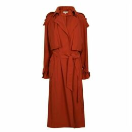 MICHAEL Michael Kors Draped Trench Coat