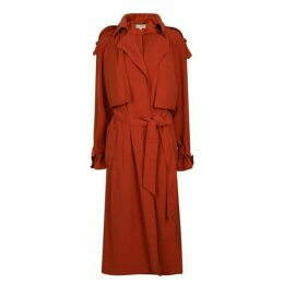 MICHAEL MICHAEL KORS Draped Trench Coat