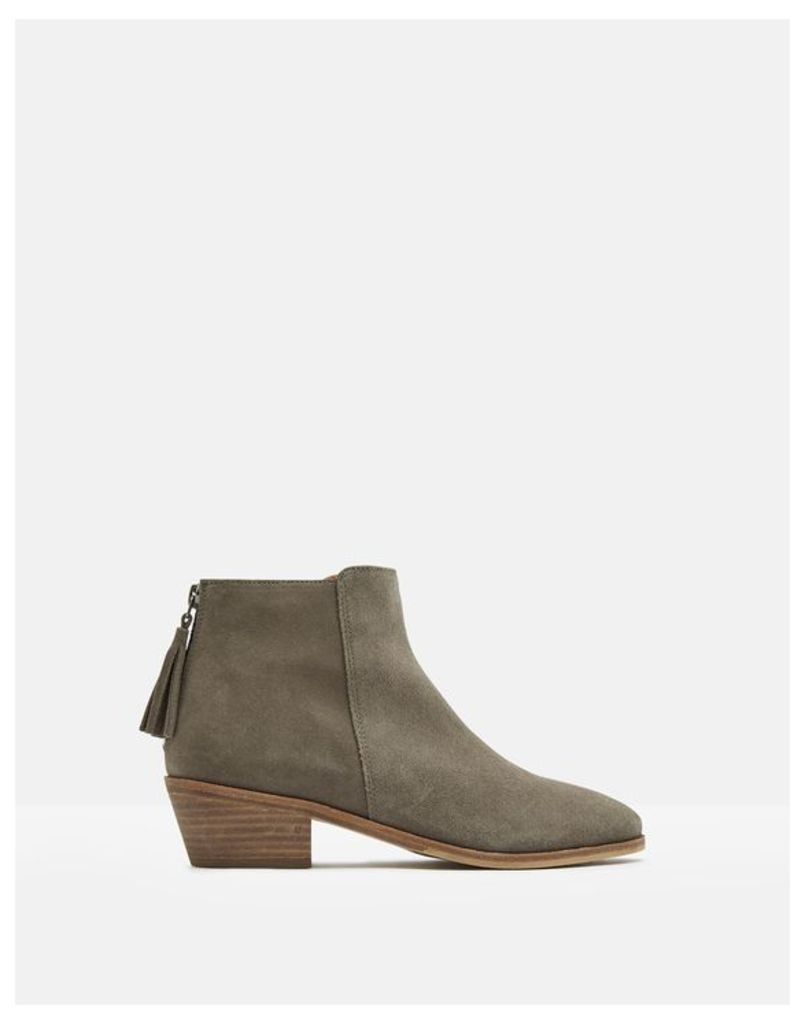 Light Grey Langham Ankle Boot  Size Adult 5