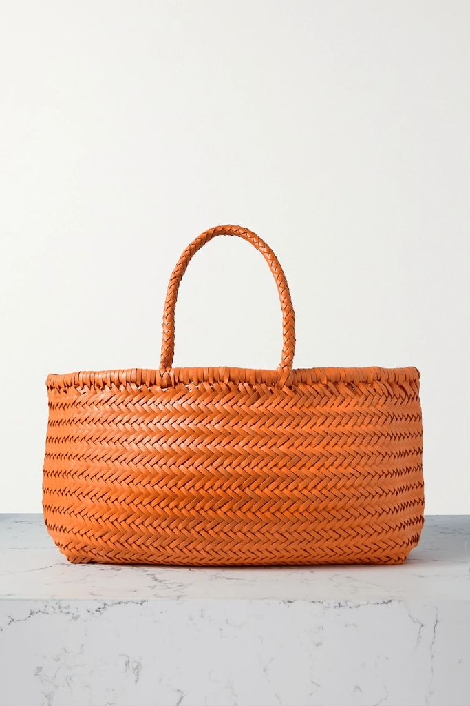 Gucci - Flora Medium Leather-trimmed Printed Canvas Tote - Pink