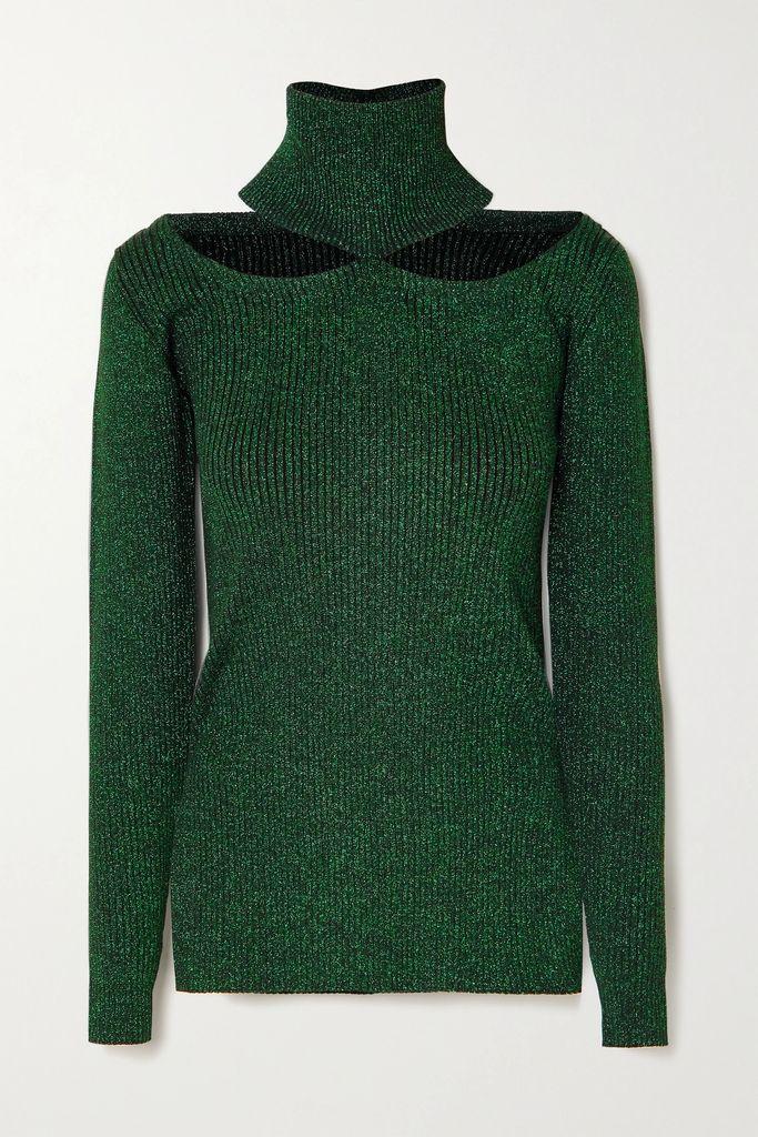 Silvia Tcherassi - Corinilla Floral-print Silk-blend Satin And Organza Blouse - Yellow