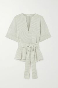Victoria Beckham - Open-back Satin Midi Dress - Black
