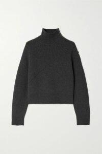 Miu Miu - Crinkled Glossed-leather Mini Skirt - Black