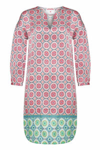 Herzensangelegenheit Ohm Printed Silk Tunic