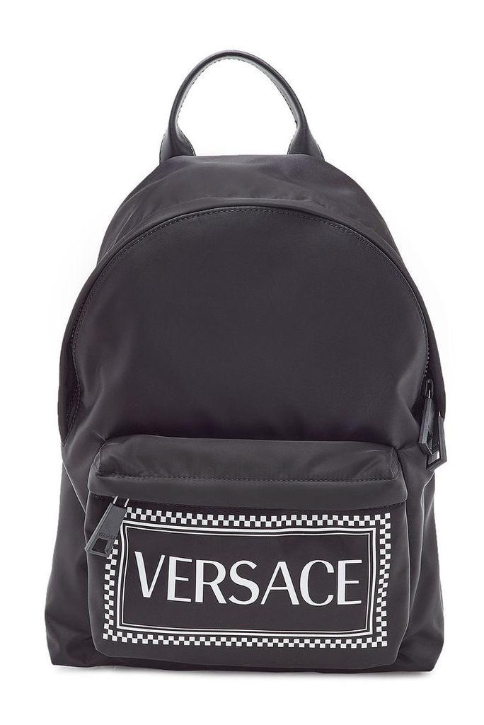Versace Printed Backpack
