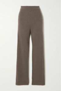 Marni - Printed Pleated Silk-twill Midi Skirt - Peach