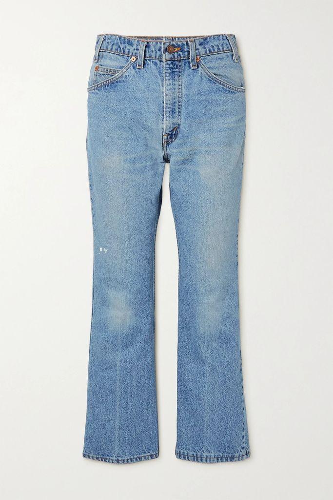 Yves Salomon - Reversible Shearling Coat - Blue