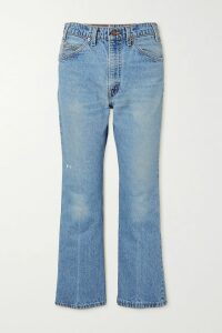 Yves Salomon - Reversible Shearling Coat - Blue