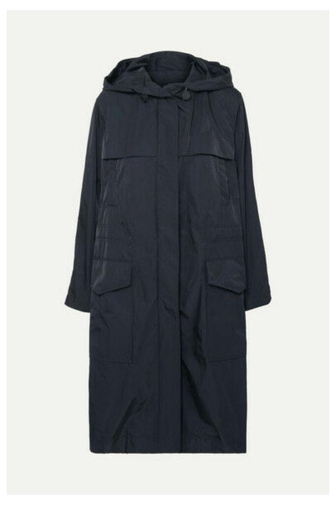 Joseph - Horton Hooded Shell Raincoat - Navy