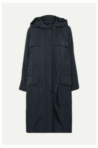 Joseph - Horton Hooded Shell Raincoat - Navy