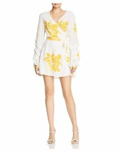S/W/F Dock Floral Mini Wrap Dress - 100% Exclusive