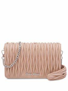 Miu Miu Miu Délice clutch bag - Neutrals