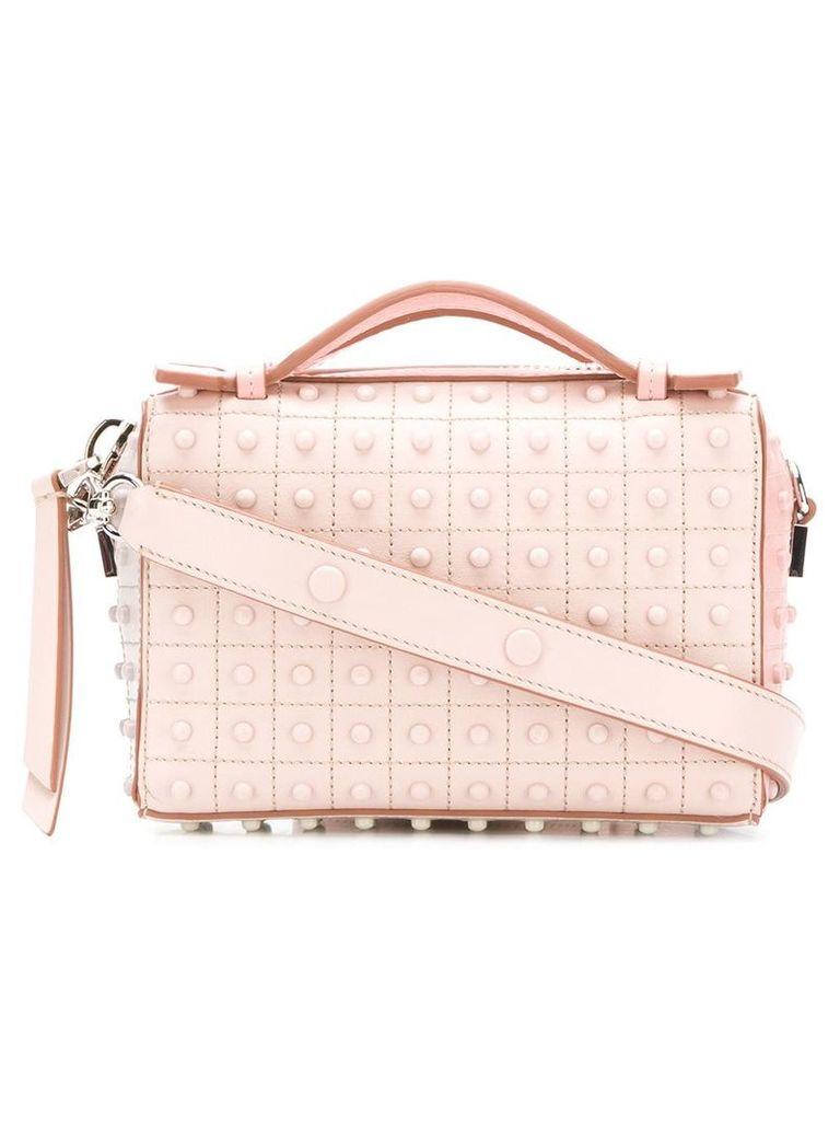 Tod's textured mini bag - Pink