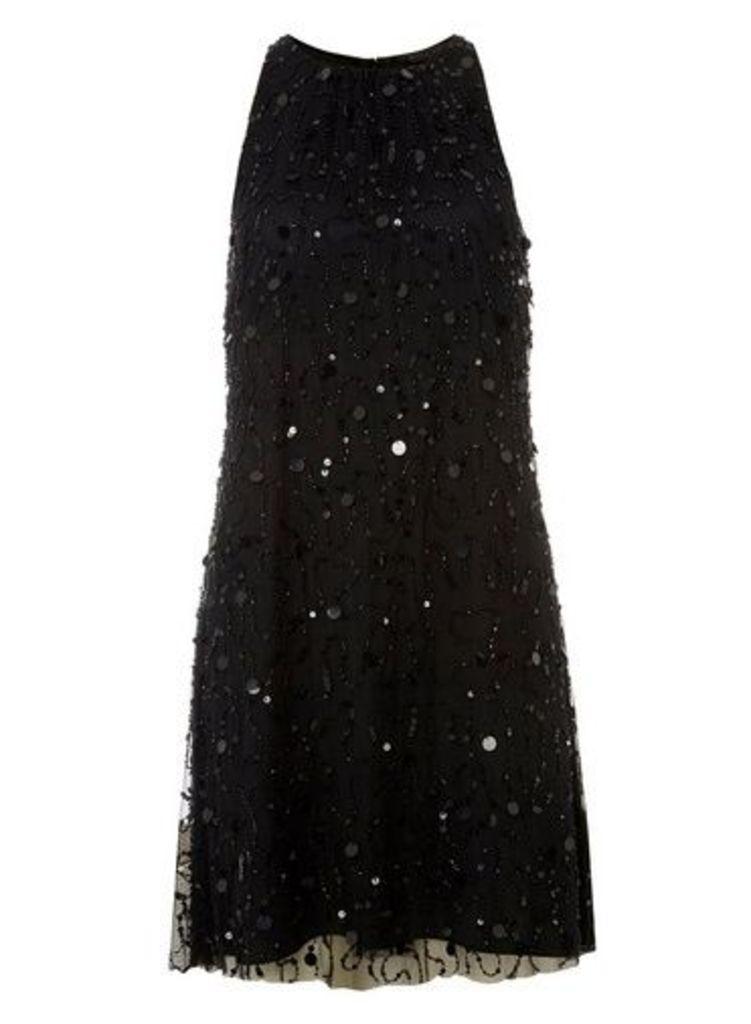 Womens **Showcase Black 'Violet' Trapeze Dress- Black, Black