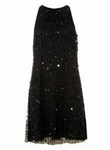 Womens **Showcase Black 'Violet' Trapeze Dress- Black, Black