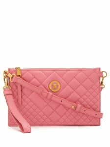 Versace quilted Medusa shoulder bag - Pink