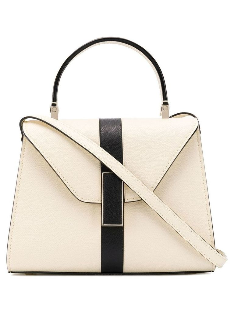Valextra Iside small tote bag - Neutrals