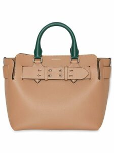 Burberry The Small Tri-tone Leather Belt Bag - Brown