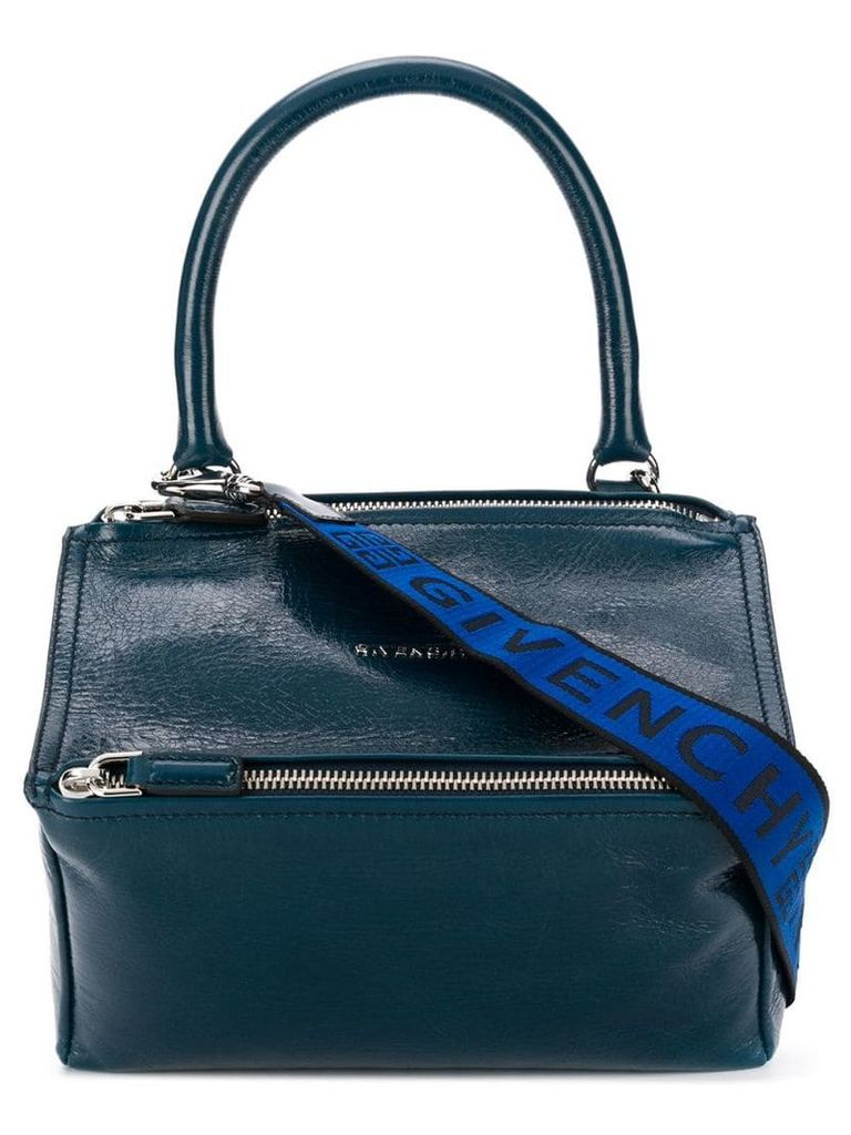 Givenchy small Pandora logo bag - Blue
