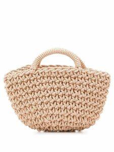 Rejina Pyo natural style woven bag - Gold