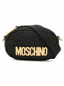 Moschino glitter belt bag - Black