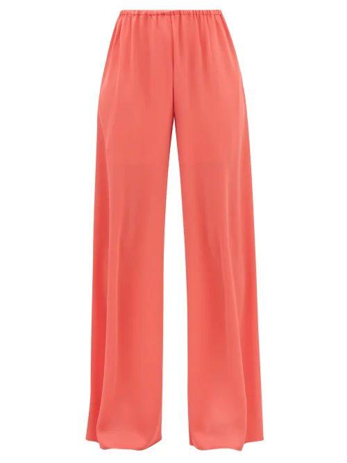 Dolce & Gabbana - Sicily Small Rose Print Dauphine Leather Bag - Womens - Black Multi
