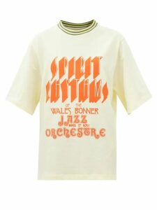 Innika Choo - Alotta Güd Tiered Cotton Maxi Dress - Womens - Blue