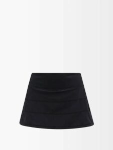 Loup Charmant - Gilgo Knotted Cotton Gauze Mini Dress - Womens - Green