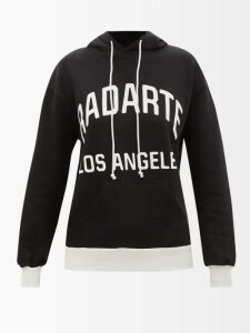 Loup Charmant - Gilgo Knotted Cotton Gauze Mini Dress - Womens - Dark Blue