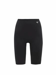 Zazi Vintage - Suzani Embroidered Shearling Coat - Womens - White Multi