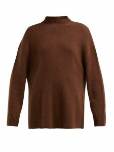 Ryan Roche - Oversized Cashmere Sweater - Womens - Brown