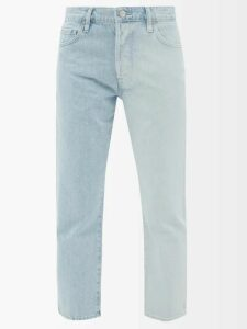 Redvalentino - Pleated Technical Satin Midi Skirt - Womens - Light Blue