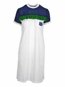 Prada Prada Ruffled Detail T-shirt Style Dress