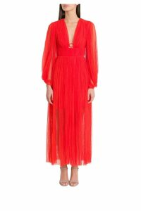 Maria Lucia Hohan Astoria Deep Midi Dress