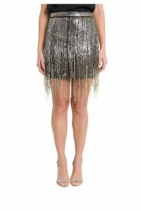 Amen Golden Sequins Skirt