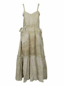 Golden Goose Striped Sleeveless Dress
