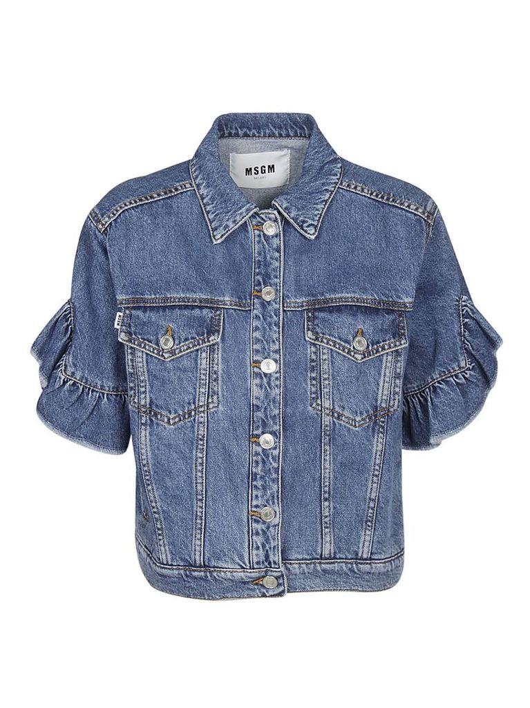 Msgm Short Sleeved Jacket