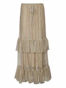 Moschino Lace Detail Skirt