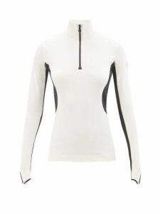 Maison Margiela - Double Breasted Wool And Silk Blazer - Womens - Black