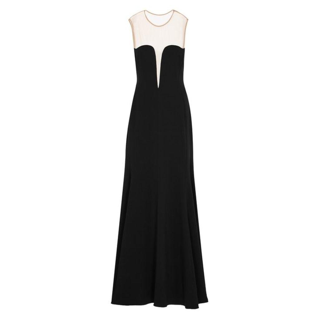 Stella McCartney Black Plunge Gown