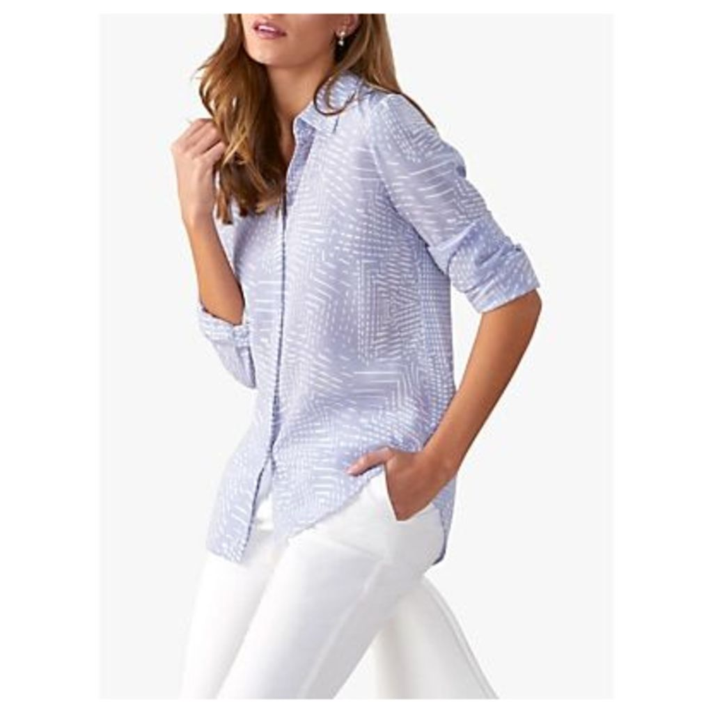 Pure Collection Washed Silk Blouse