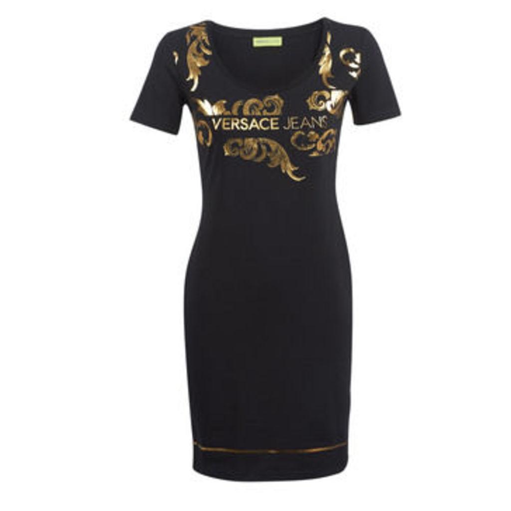 Versace Jeans  D2HTA423-36262  women's Dress in Black